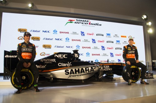 F1 Force India 2015 Checo y Nico