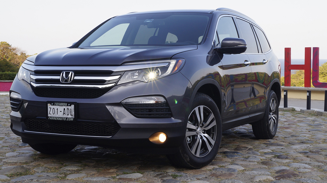 honda pilot 2016 una sola versi n un solo precio. Black Bedroom Furniture Sets. Home Design Ideas