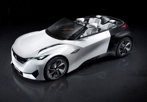 Peugeot Fracteal eléctrico frente lateral