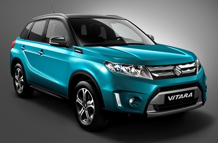 Suzuki Grand Vitara 2016 frente lateral