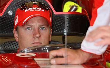 Kimi obtiene la pole para el Gran Premio de Bélgica.