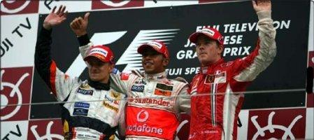 F1 Podio GP Japón Sep 30