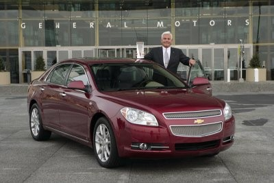 Malibu el más vendido de GM