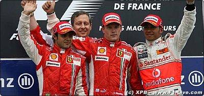 El Gran Premio de Francia para Ferrari.