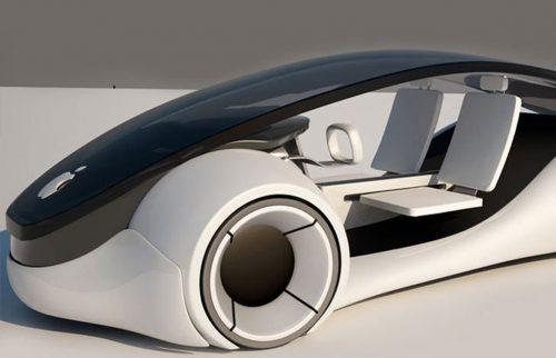 Prototipo del vehículo autónomo de Apple.