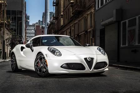 Alfa Romeo 4 C 2016 frente lateral