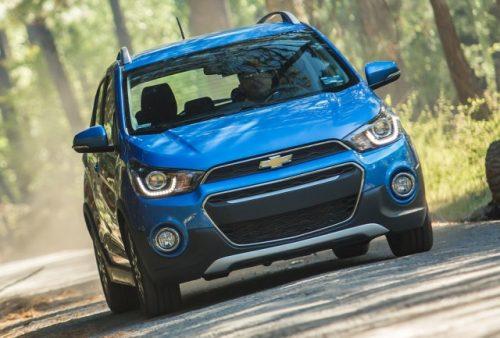 Chevrolet Spark Activ 2016 frente