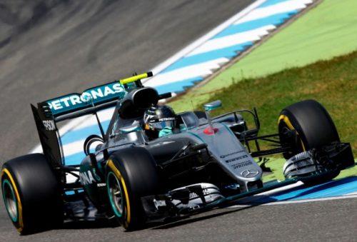 F1 2016 GP Bélgica Rosberg pole