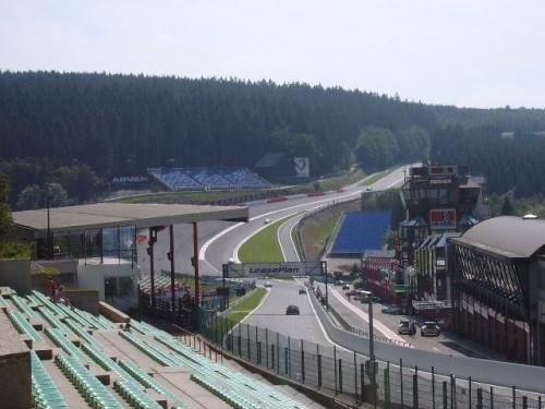 F1 Francorchamps circuito