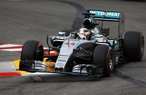 F1 GP Mónaco Hamilton pole