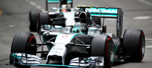 F1 GP Mónaco rivalidad en Mercedes