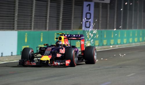 F1 GP Singapur Daniil Kvyat y su estrategia Red Bull