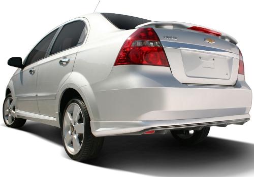 GM Chevrolet Aveo 2012 atrás