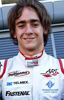 GP3 Esteban Gutiérrez close up