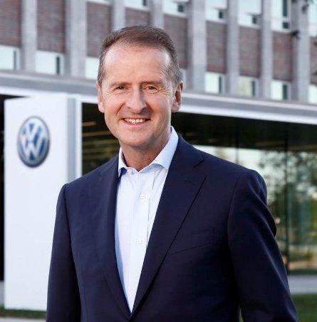 Herbert Diies, Volkswaagen (Cortesía Twitter-com).
