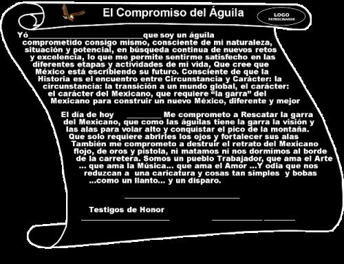 Historias que contar Compromiso del Aguila