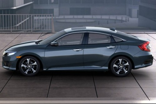 Honda Civic 2016 lateral