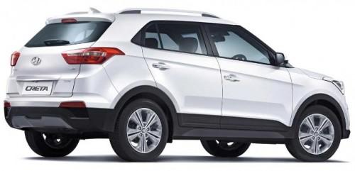 Hyundai Creta atrás lateral