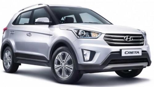 Hyundai Creta frente lateral