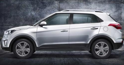 Hyundai Creta lateral