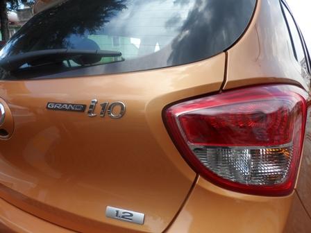 Hyundai Grand i10 detalle calavera