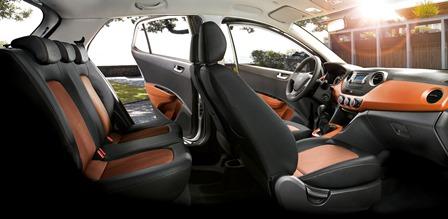 Hyundai Grand i10 interiores