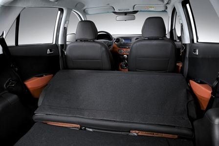 Hyundai Grand i10 maletero