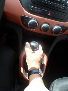 Hyundai Grand i10 palanca