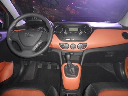 Hyundai Grand i10 tablero