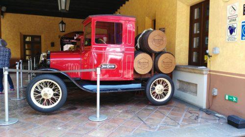 Este es uno de los modelos Ford de la colección en la Hacienda de Jose Cuervo. (Fotos: Ford)