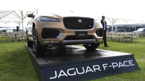 Jaguar F-PACE la nueva joya de la realeza inglesa en México.