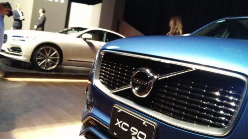 Volvo XC90 también hizo acto de presencia.