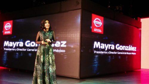 Mayra González, presidenta de Nissan Mexicana. (Fotos Jorge López/Al Volante y cortesía).