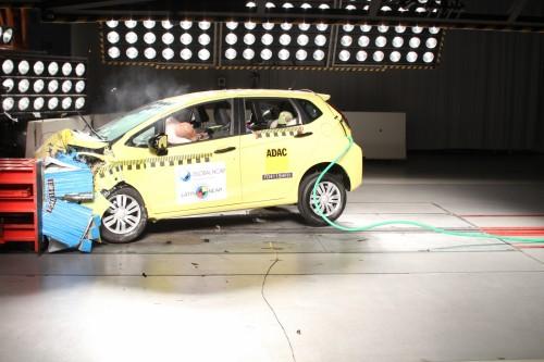 Latin NCAP Honda Fit 5 estrellas