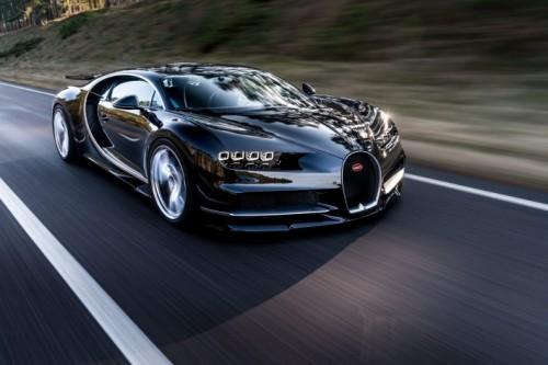 Le Mans Bugatti en acción