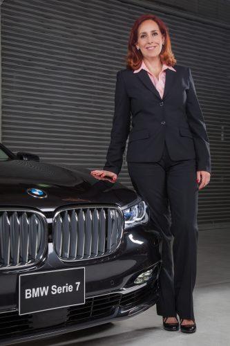 Maru Escobedo, directora de ventas de BMW Group México.