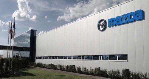 Mazda Salamanca planta edificio
