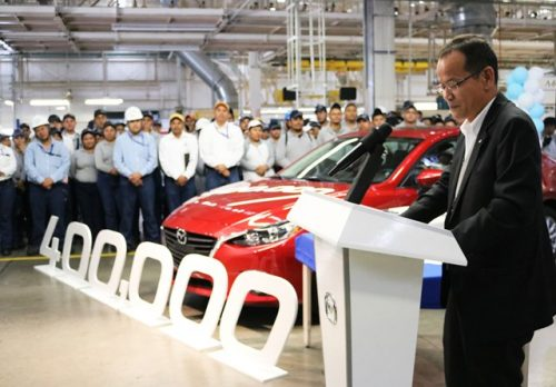 Mazda planta Salamanca 400 mil