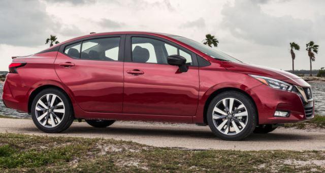 Nissan versa 2020 méxico