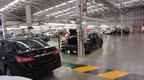 Nissan A2 producción Sentras acabado