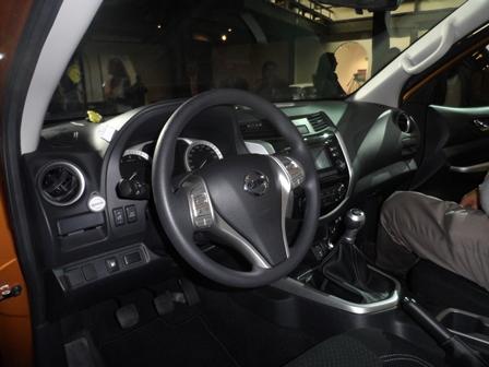 Nissan Ene Frontier tablero