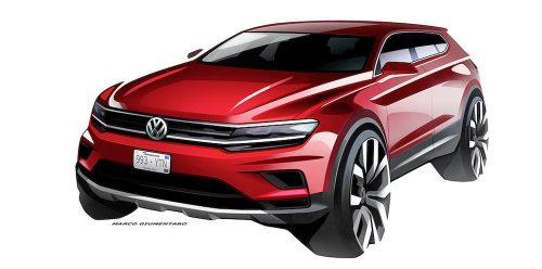 El Nuevo Tiguan de Volkswagen será una atracción. (fotos: Cortesía VW y BMW).