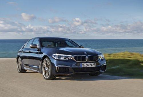 M550i xDrive, con motor V8, es el sedán ejecutivo más dinámico. (Fotos Cortesía BMW y VW)..