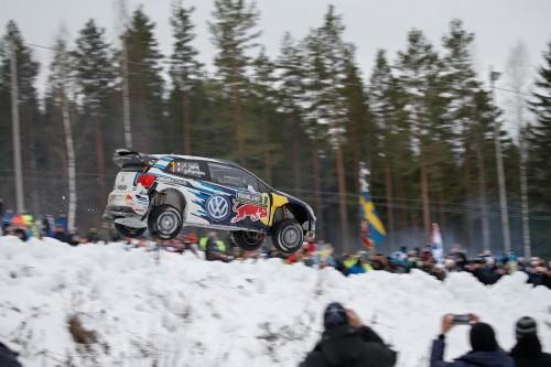 Rally de Suecia Ogier brinco