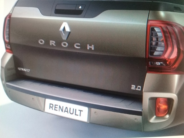 Renault Oroch 2019 Reducida Doble Cabina Brasilena Con