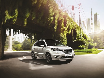 Renault Koleos 2016 frente lateral