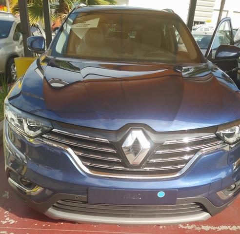 Renault Koleos 2017 frente
