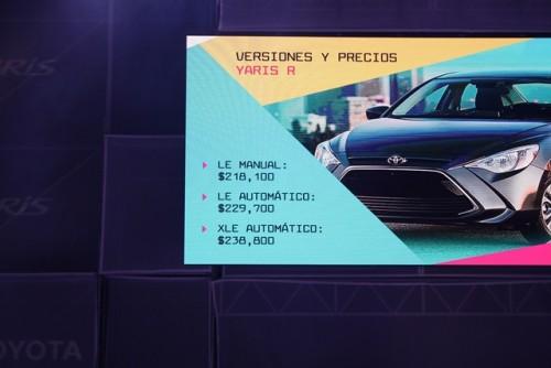 Toyota Yaris R precios