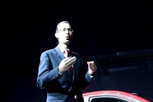 Toyota Yaris R presentación Mark Medina