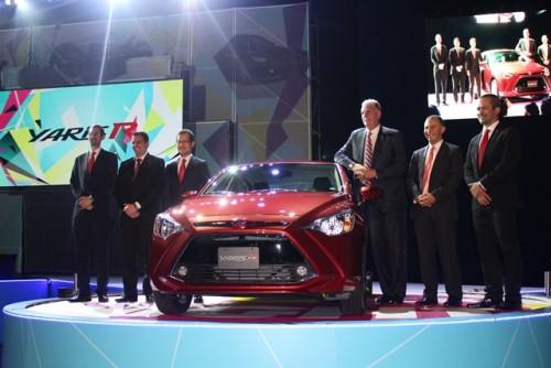 Toyota Yaris R presentación auto ejecutivos